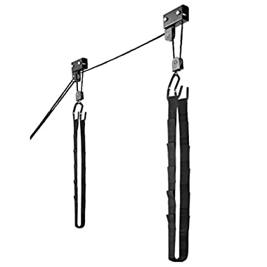 RAD Sportz Kayak Hoist Quality Garage Storage Canoe Lift with 125 lb Capacity Even Works as Ladder Lift Premium Quality