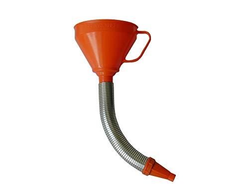 Pressol 02675 Trichter mit Flexibler Düse aus Metall , 160mm