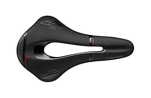 Selle San Marco - Sillín SHORTFIT Open-Fit Carbon FX Wide