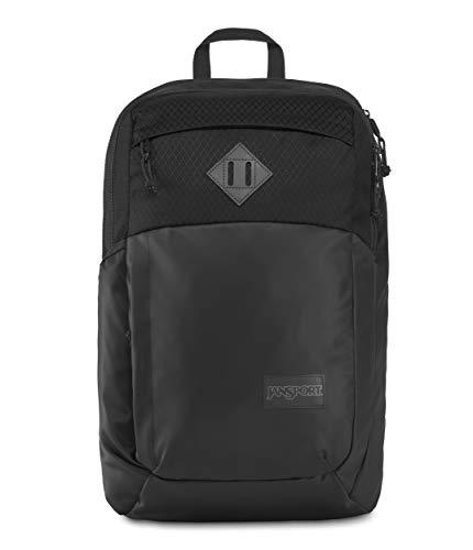 JanSport Fremont Backpack, Black Matte Coated 600D