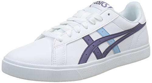 ASICS Damen Classic CT Basketballschuhe, Weiß (White/Dusty Purple 104), 39.5 EU