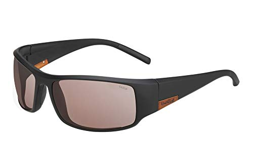 bollé King Gafas de Sol, Adultos Unisex, Matt Black Metal B