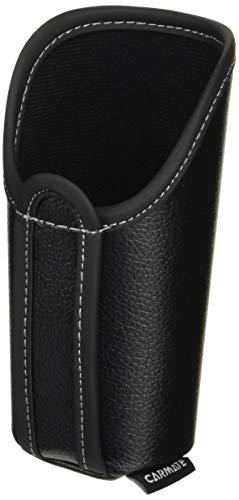 カーメイト 車用 サングラスケース ボトルタイプ レザー調ブラック DZ375