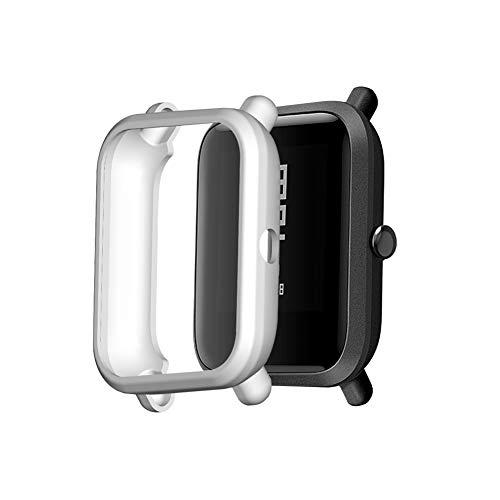 Babitotto TUP Case - Funda protectora para reloj inteligente compatible con Amazfit Bip/Amazfit Bip S/Bip 1S/Amazfit Bip Lite/bip Lite 1s/Amazfit A1608