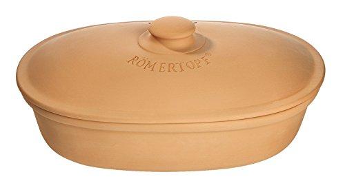 Brottopf oval aus Ton