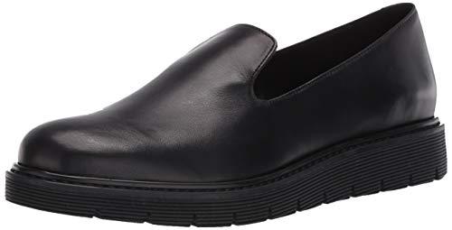 Aquatalia Women's Loafer, Black, 10.5 M US