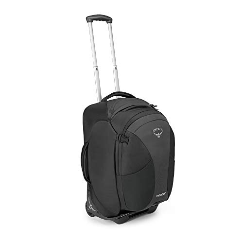 Osprey Packs (10000500) Meridian 60 L/22' Wheeled Luggage, Metal Grey