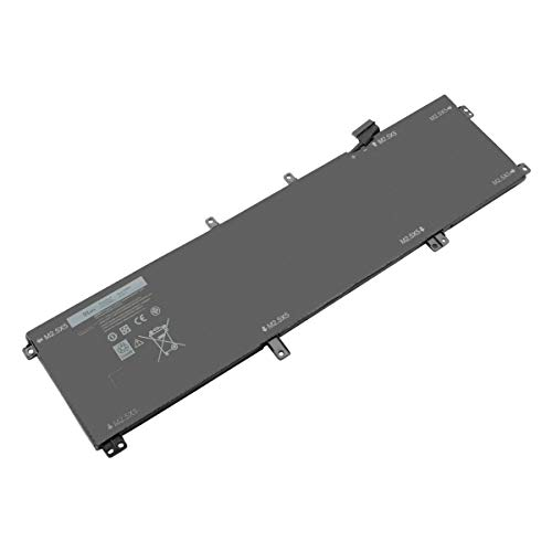 Exmate laptop battery for Dell XPS 15 9530 Dell Precision M3800 Mobile Workstation Series Notebook PC 701WJ 7D1WJ 07D1WJ T0TRM Y757W H76MV 0H76MY Y758W 11.1V 91Wh