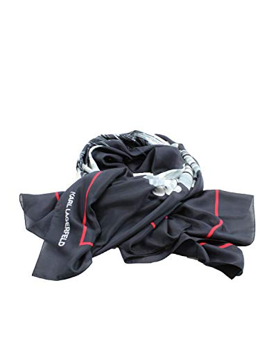 Karl lagerfeld - 999 scarf black 200W3307