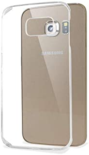 Shot Case Cover for Samsung Galaxy S6 Edge with Invisible Protection Pale Pink