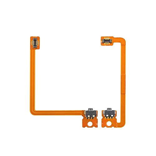 L R Left Right Shoulder Trigger Button Switch Connector Module Flex Cable Replacement Compatible with Nintendo 3DS XL (not fit 3DS)