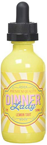 Dinner Lady e-Liquid Shake-and-Vape für Ihre e-Zigarette, 0.0 mg Nikotin, 50 ml (Lemon Tart)