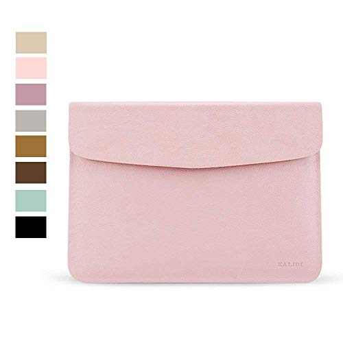 KALIDI 15 inch Laptop Sleeve 15.6 inch Laptop Case Bag for New 15' MacBook Pro Touch Bar Retina 2017 (A1707) 15.4' ASUS VivoBook S Inspiron 14 Notebook Bag, 15-15.3 inches,Rose Gold