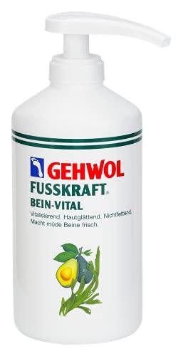 GEHWOL Fusskraft Bein Vital Fußcreme, 500 ml mit Spender