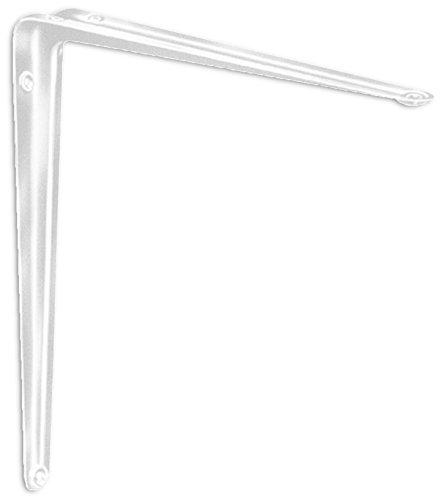 Element System 18133-00185 Regalkonsole Ina/Regalträger / 6 Größen / 2 Farben / 2 Stück/weiß / 300 x 350 mm