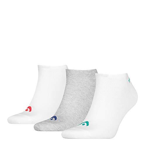 HEAD Unisex-Adult Sneaker-Trainer (3 Pack) Socks, Grey Melange, 43/46