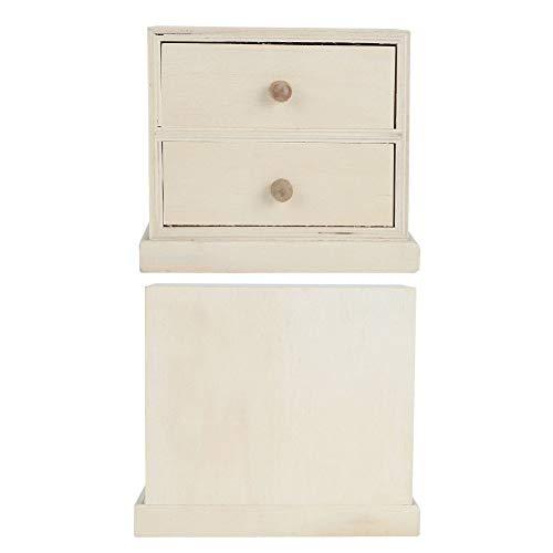 Changor Caja de Almacenamiento Importante, Organizador de Escritorio de Oficina 13x12x7.5cm Herramienta de Almacenamiento Phoenix