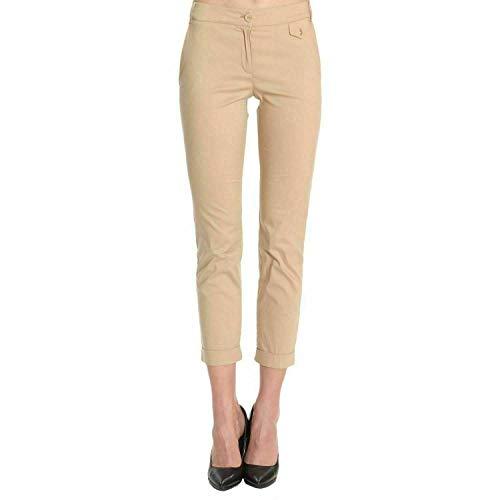 PATRIZIA PEPE Pantalone da Donna Cotone a Vita Alta Stretch 2P0674/A23 (44 IT)