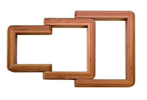 Tescoma 900854Online Topfuntersetzer klappbar, Holz