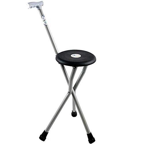 WYJW Klappstuhl, praktisch, aus Nylon, Ultraleicht, tragbar, hilft beim Gehen von älteren Menschen, Kletterstab, für Männer, Frauen, ältere Behinderte, Frauen