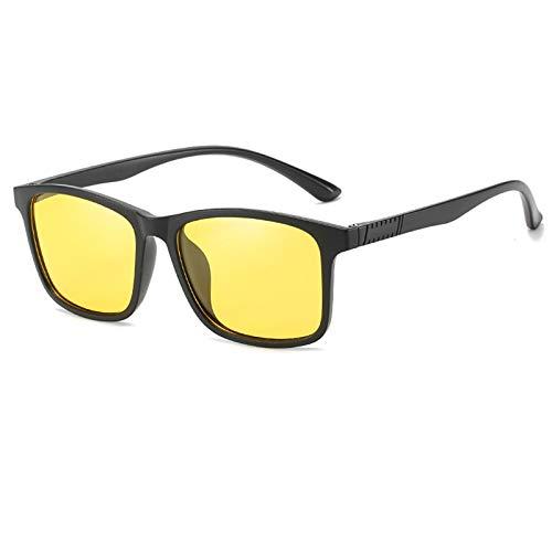 COCKE Gafas de Sol Mujer polarizadas bisagras de Resorte duplicadas Completas Gafas de Sol para Hombres Mujeres conducción Gafas Gafas de Sol Unisex UV400 Protección,Amarillo