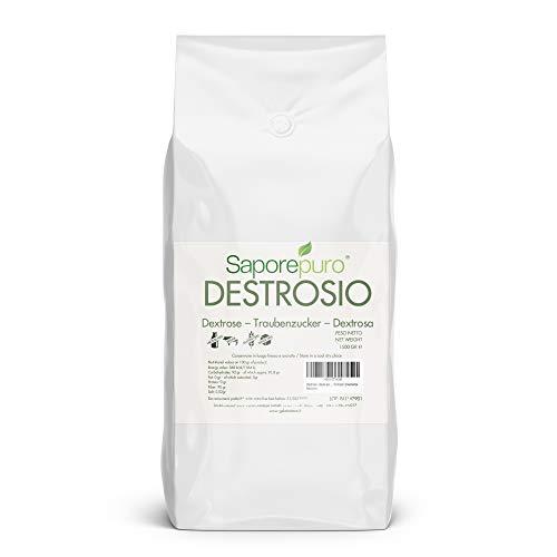 SaporePuro Dextrose Pulver - 1,5 kg