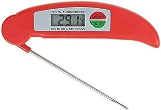Fransande - Termómetro de carne con termómetro, de cocina, cocina, cocina, carne, barbacoa, carne, agua, leche, termómetro, cocina