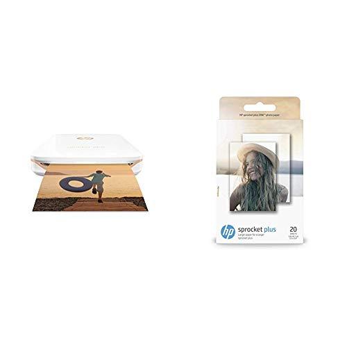 Custodia Rigida per HP Sprocket Stampante Fotografica Portatile per Zink Carta fotografica autoadesiva di Aenllosi