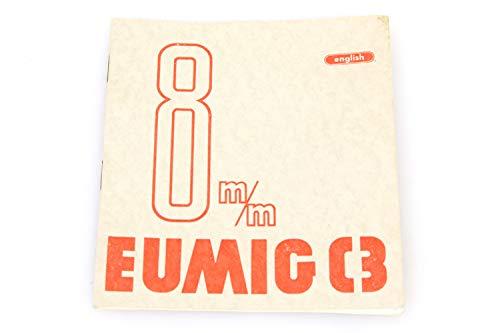 EUMIG C3 8MM Owners Manual C1959 Original