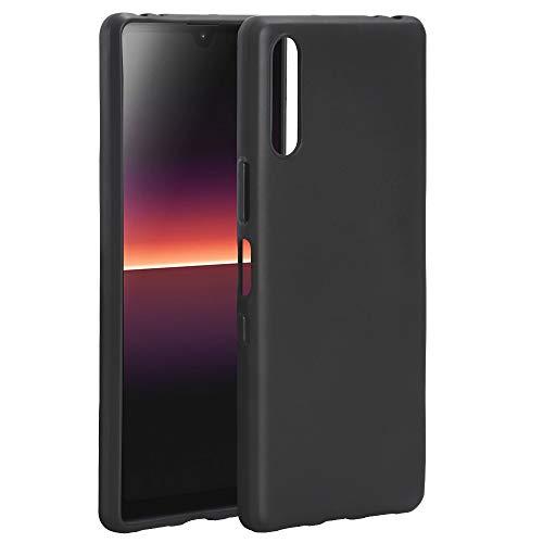 NEWZEROL Kompatible für Sony Xperia L4 hülle [Slim-Fit][Kratzfest][Stoßdämpfung][Schutzhülle Gefrostete Handytasche für Sony Xperia L4 [lebenslanger Austauschservice]-Schwarz