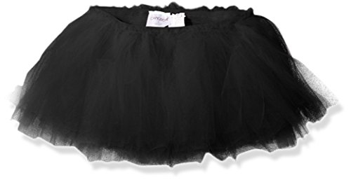 Capezio (2-6X Little Girls' Waiting for A Prince Tutu Skirt, Black, Small (4-5)