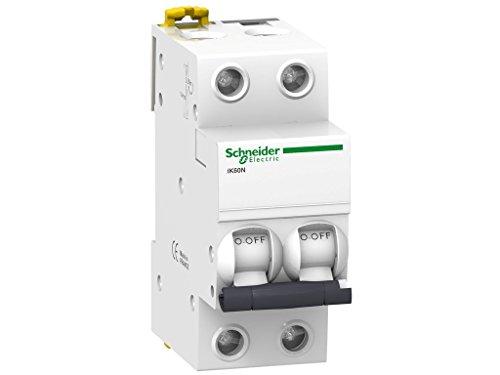 Schneider Electric A9K24250A9K24250magneto-thermic interruttore, IK60N, 2p, 50a, curva C