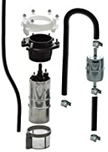 Complete 52mm Fuel Pump Kit compatible with BMW K-Series 16 12 1 461 576 Post 4/1985 With Fuel Line