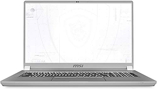 CUK WS75 by_MSI 17 Inch Mobile Workstation Laptop (Intel Core i9, 64GB RAM, 2TB NVMe SSD, NVIDIA Quadro RTX 3000 6GB, 17.3' FHD IPS 144Hz, Windows 10 Pro) Thin Bezel Notebook Computer