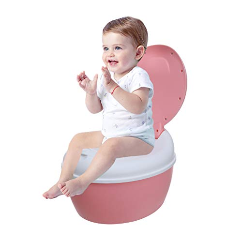 Multi-Stage 3-in-1 Potty System - Potty Chair, Toilet Trainer, Sunsee Step Stool All in One, Removable High Soft Splash Guard