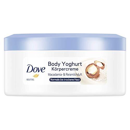 Dove Body Yoghurt Körpercreme mit Macadamia- & Reismilchduft, 250 ml