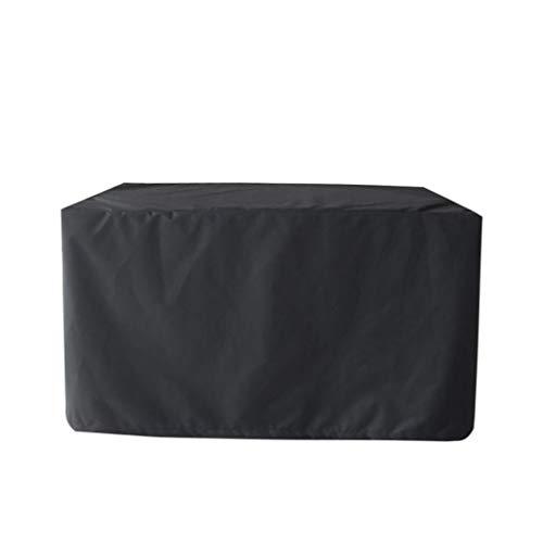 Ensemble De Mobilier De Jardin Extérieur, Housse De Protection Respirante Oxford Rectangulaire For Housse De Jardin Respirante - Noir (Size : 135x135x75cm(53x53x30inch))