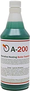 A200 (Alternative Heating Boiler Treatment, Rust Inhibitor for Outdoor Wood Boilers, 1 Quart, Treats 200 Gallons)