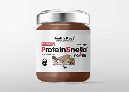 PROTEINELLA Protein Hazelnuts Spread Cream with Cocoa and Protein pralines - 250g Functional Food