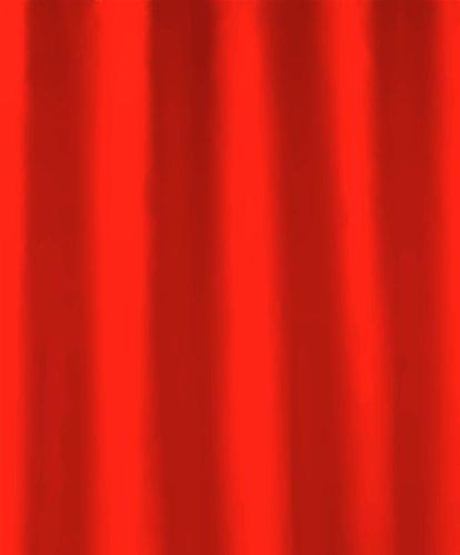 Kleine Wolke 4937462238 Duschvorhang Kito, 120 x 200 cm, rot