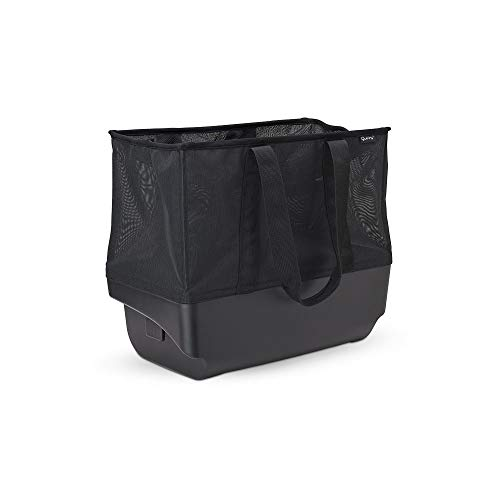Quinny 1604057000 Hubb XXL Einkaufskorb, großer Einkaufskorb für Ihren Hubb Kinderwagen, schafft Platz für weitere 10kg, Black, schwarz