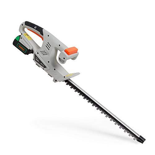VonHaus Cordless Hedge Trimmer - 12V MAX 2.0 Lithium-Ion Battery –...