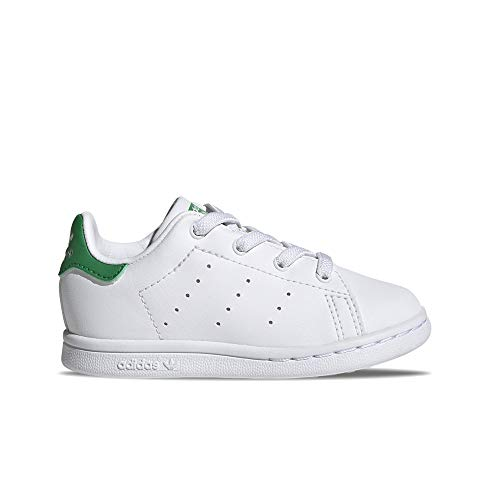 adidas Stan Smith EL I Gymnastics Shoe, FTWR White FTWR, 6.5 UK Child