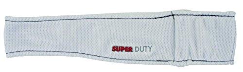 Headsweats Super Duty Bandeau Mixte, Blanc, FR Unique (Taille Fabricant : OSFA)