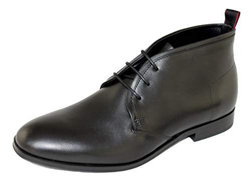 Boss Schuhe Shoe Boots Schnürer Stiefeletten Boheme_Desb_lt 10212055 Schwarz EUR 43