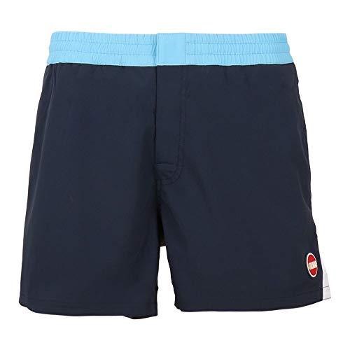 COLMAR Mens Swmming Shorts 7268 Fit - Badehose, Größe_Bekleidung_NR:56, Farbe:Navy-Windsurf-Street-White