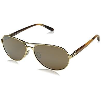 f8c0ecaf47 Oakley Women s Tie Breaker OO4108 Non-Polarized Iridium Aviator SunglassesOakley  Women s Tie Breaker OO4108 Non-Polarized Iridium Aviator Sunglasses 3.8 out  ...
