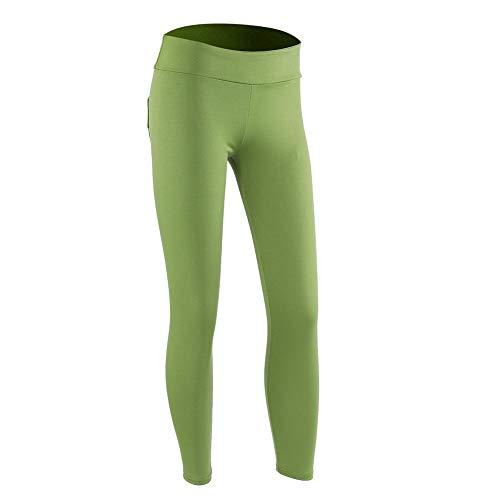 Alomejor Fitnessbroek, polyester, voor dames, sport, gym, yoga, hardlopen, fitness, legging voor yoga
