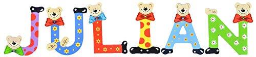 Sortiert Playshoes Kinder Holz-Buchstaben Namen-Set Lennart