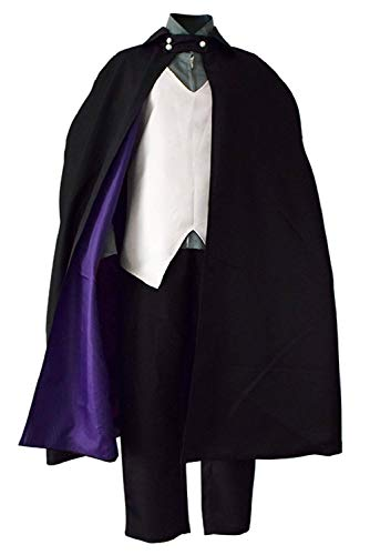 Enhopty Boruto The Movie Uchiha Sasuke Outfits Halloween Karneval Suit Cosplay Kostüm Herren S